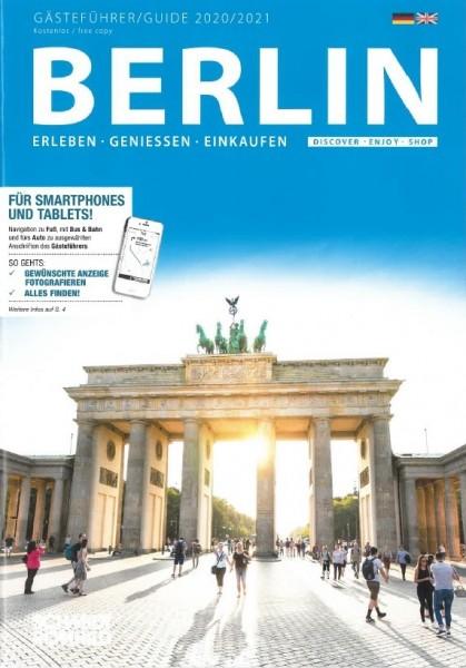 Gästeführer Berlin 2020/2021: Erleben - Genießen - Einkaufen [dt./engl.]