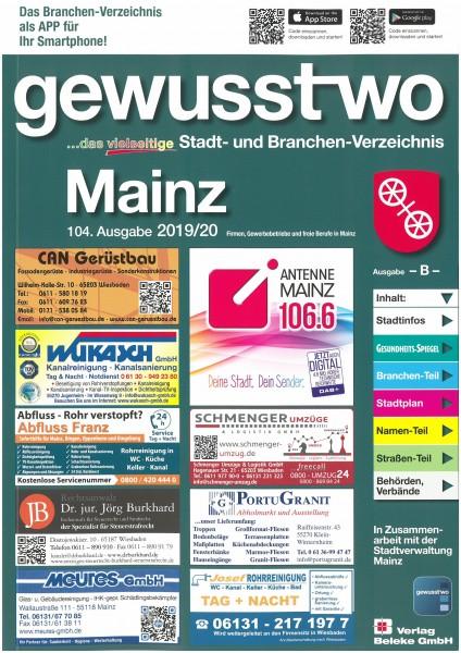 gewusst-wo Mainz 2019/20