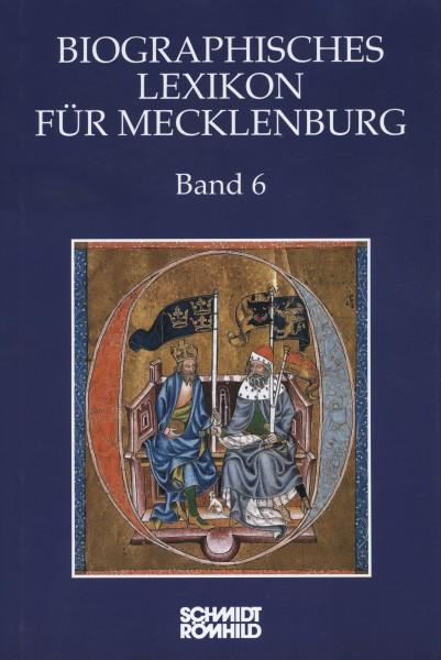 Biographisches Lexikon für Mecklenburg Band 6