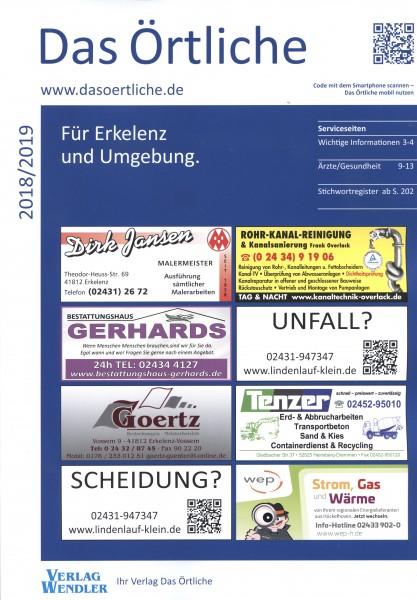 Das Örtliche für Erkelenz und Umgebung 2018/2019
