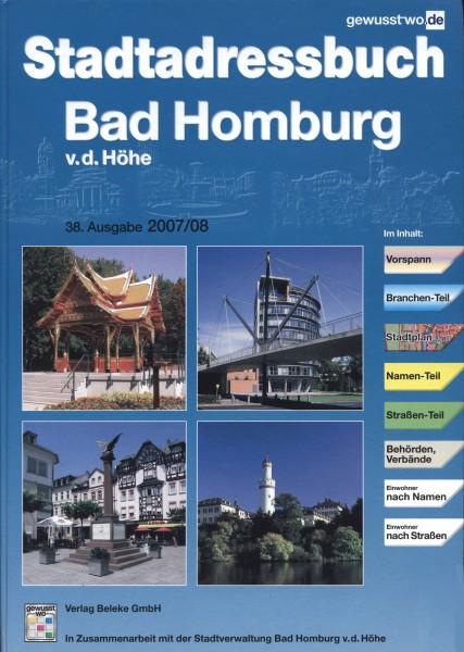 Stadtadressbuch Bad Homburg v. d. Höhe 2007/08