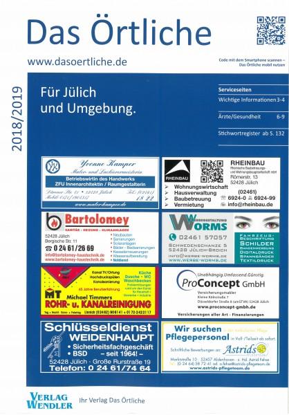 Das Örtliche für Jülich und Umgebung 2018/2019