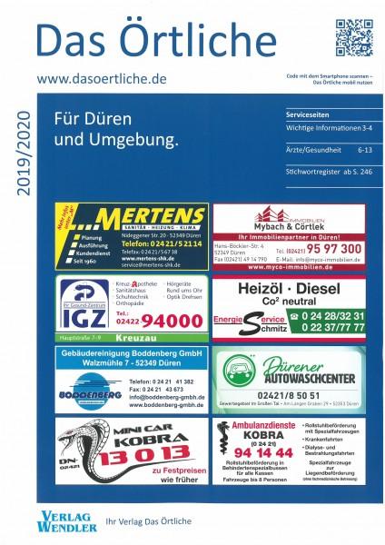 Das Örtliche für Düren und Umgebung 2019/2020