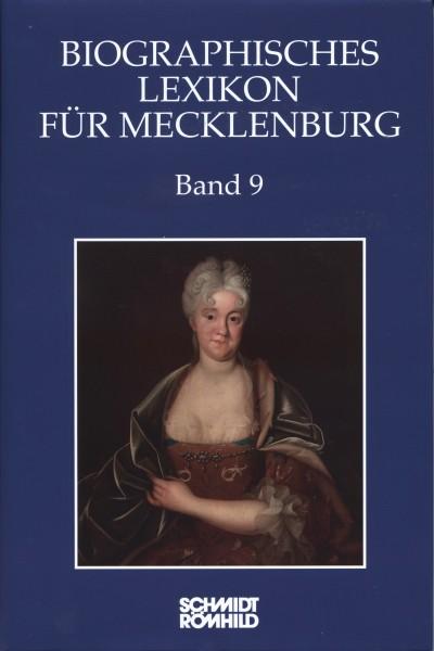 Biographisches Lexikon für Mecklenburg Band 9