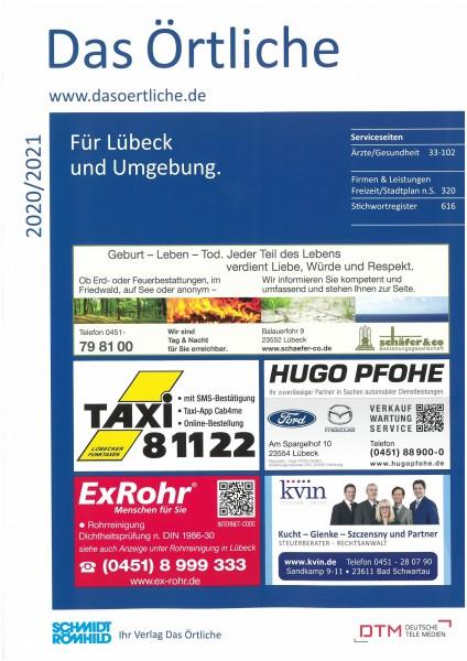Das Örtliche für Lübeck und Umgebung 2020/2021