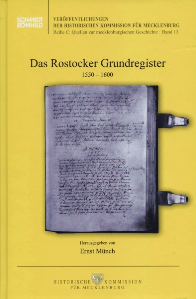 Das Rostocker Grundregister 1550-1600