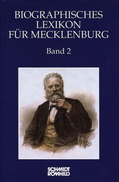 Biographisches Lexikon für Mecklenburg Band 2