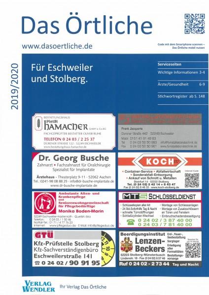 Das Örtliche für Eschweiler und Stolberg 2019/2020