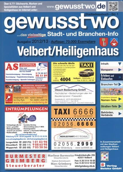 gewusst-wo Velbert/Heiligenhaus 2012/13