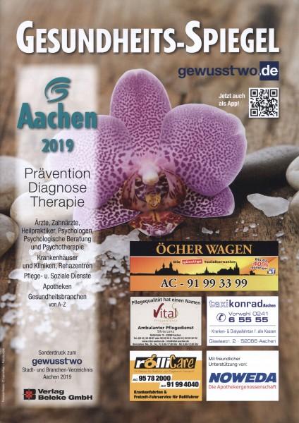 Gesundheits-Spiegel Aachen 2019