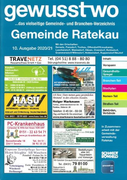 gewusst-wo Gemeinde Ratekau 2020/2021