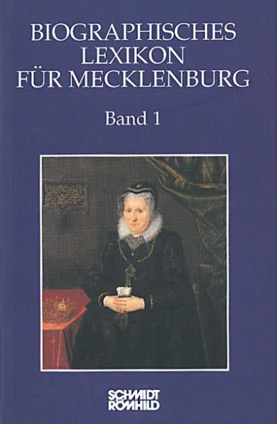 Biographisches Lexikon für Mecklenburg Band 1