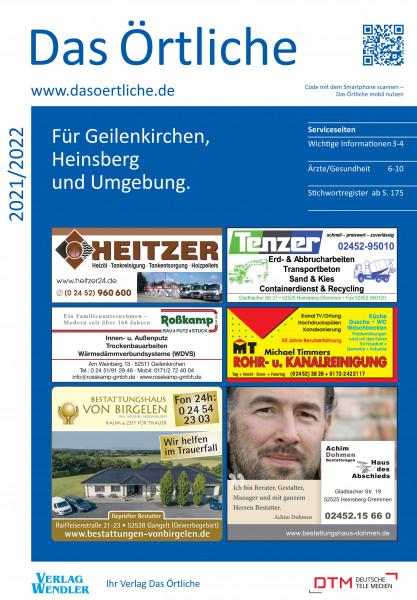 Das Örtliche für Geilenkirchen, Heinsberg und Umgebung 2021/2022