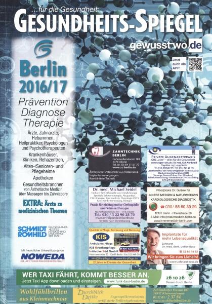 Gesundheits-Spiegel Berlin 2016/17