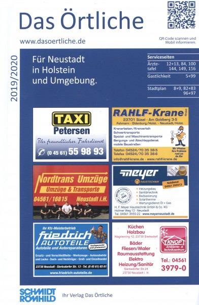 Das Örtliche für Neustadt in Holstein und Umgebung 2019/2020