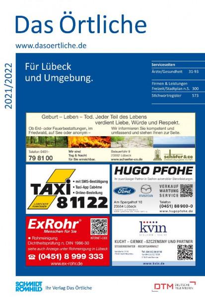 Das Örtliche für Lübeck und Umgebung 2021/2022