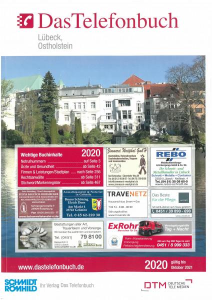 Das Telefonbuch Lübeck, Ostholstein 2020/gültig bis Oktober 2021