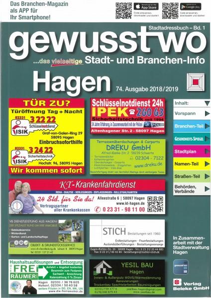 gewusst-wo Hagen 2018/2019
