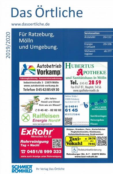 Das Örtliche für Ratzeburg, Mölln und Umgebung 2019/2020