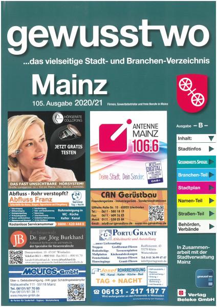 gewusst-wo Mainz 2020/21