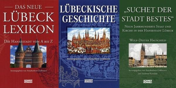 Lübeck-Set 2: Das neue Lübeck-Lexikon & Lübeckische Geschichte & Suchet der Stadt Bestes