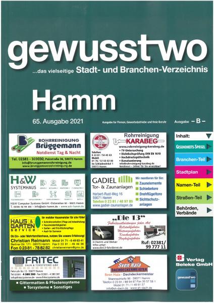 gewusst-wo Hamm 2021