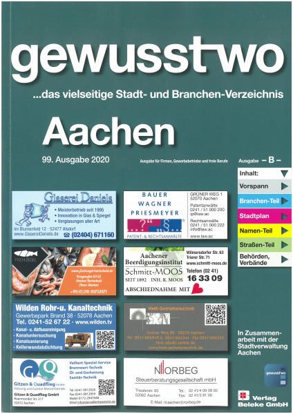 gewusst-wo Aachen 2020