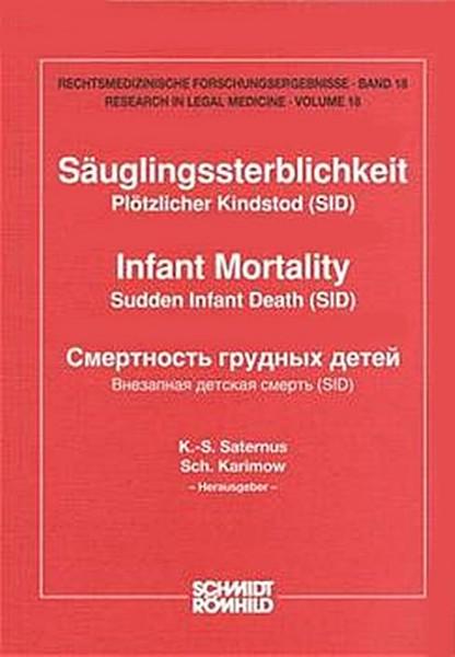 Säuglingssterblichkeit - Plötzlicher Kindstod (SID)
