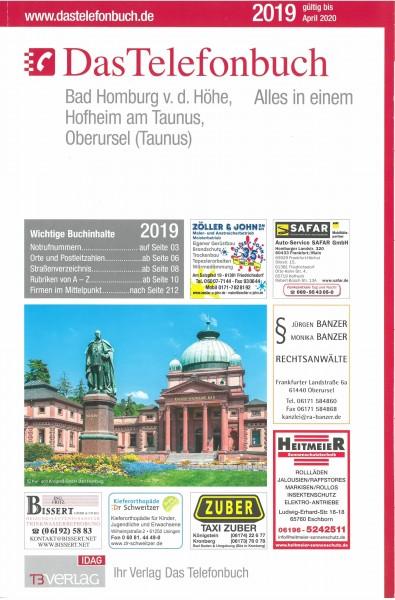 Das Telefonbuch Bad Homburg v.d. Höhe, Hofheim am Taunus, Oberursel (Ts.) 2019/20