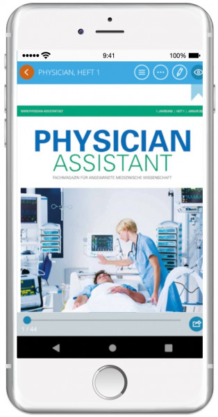 Jahres-Abo: Physician Assistant als App