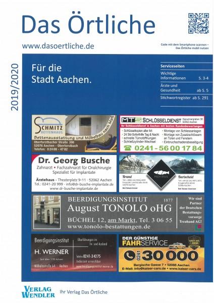 Das Örtliche für die Stadt Aachen 2019/2020