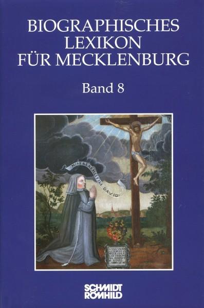 Biographisches Lexikon für Mecklenburg Band 8