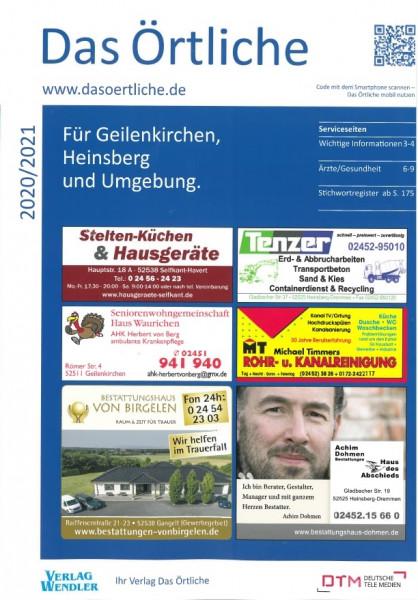 Das Örtliche für Geilenkirchen, Heinsberg und Umgebung 2020/2021