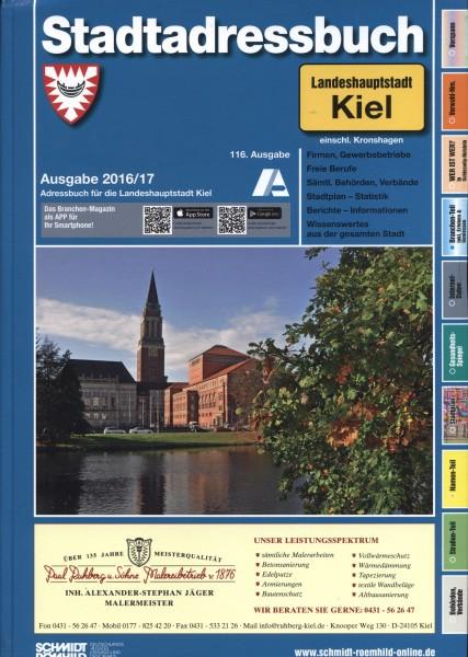 Stadtadressbuch Landeshauptstadt Kiel einschl. Kronshagen 2016/17