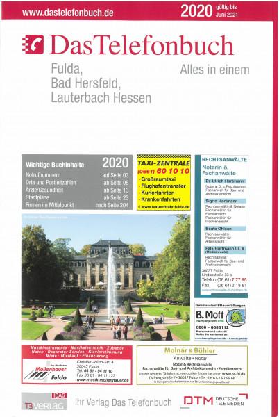 Das Telefonbuch Fulda, Bad Hersfeld, Lauterbach Hessen 2020