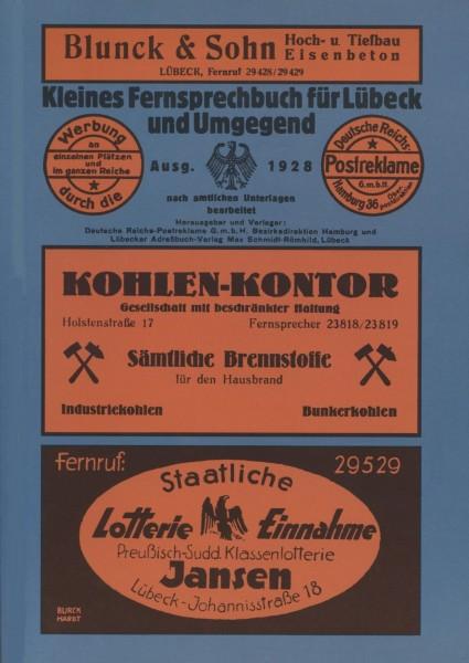Kleines Fernsprechbuch für Lübeck und Umgebung. Ausgabe 1928 (Reprint)