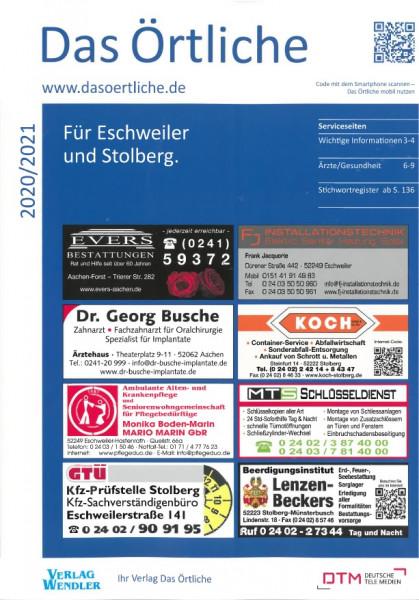 Das Örtliche für Eschweiler und Stolberg 2020/2021