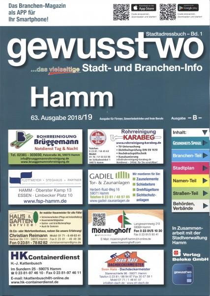 gewusst-wo Hamm 2018/19