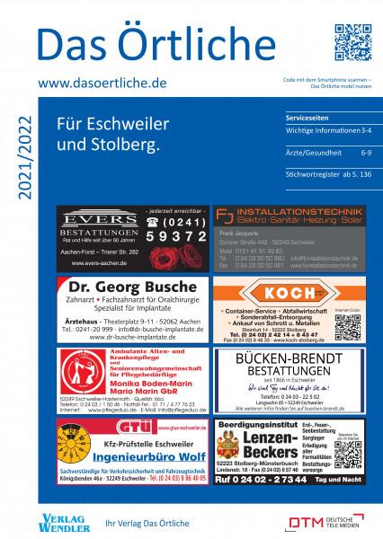 Das Örtliche für Eschweiler und Stolberg 2021/2022