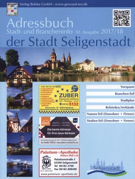 Adressbuch der Stadt Seligenstadt 2017/18
