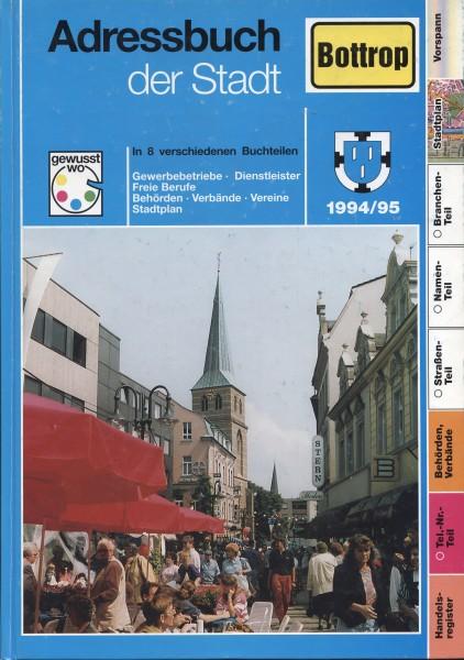 Adressbuch der Stadt Bottrop 1994/1995