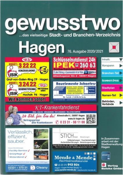 gewusst-wo Hagen 2020/2021