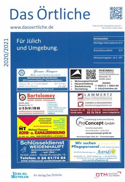 Das Örtliche für Jülich und Umgebung 2020/2021