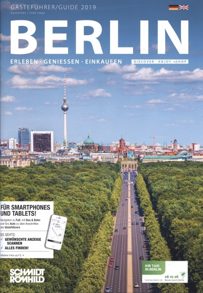 Gästeführer Berlin 2019: Erleben - Genießen - Einkaufen [dt./engl.]