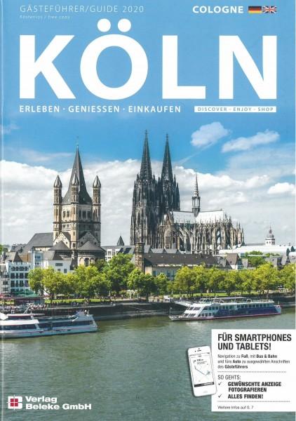 Gästeführer Köln 2020: Erleben - Genießen - Einkaufen [dt./engl.]
