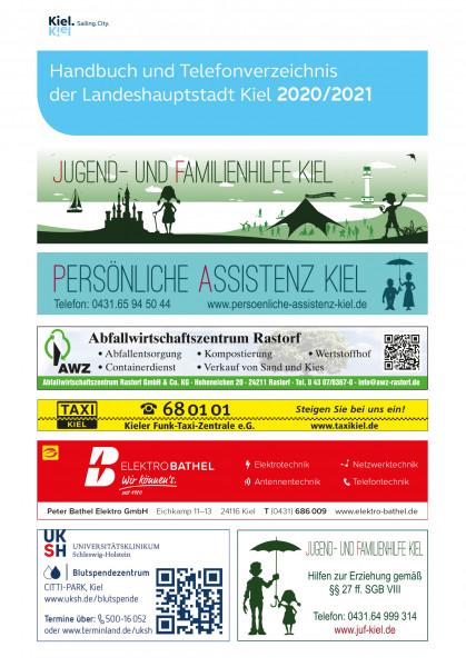 Handbuch und Telefonverzeichnis der Landeshauptstadt Kiel 2020/2021