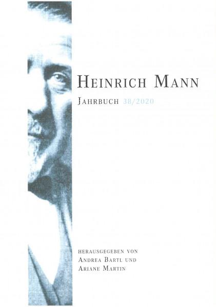Heinrich Mann-Jahrbuch 38 / 2020