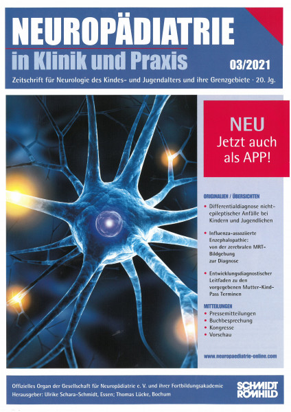 Jahres-Abo: Neuropädiatrie in Klinik und Praxis inkl. App