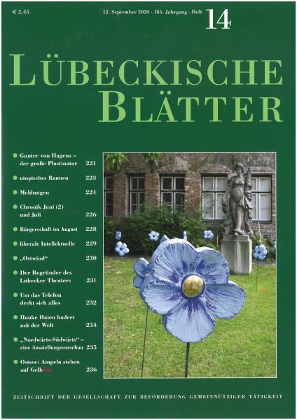 Jahres-Abo: Lübeckische Blätter