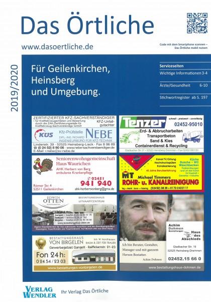 Das Örtliche für Geilenkirchen, Heinsberg und Umgebung 2019/2020